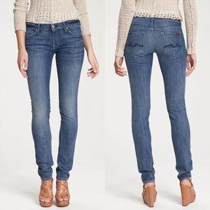 7FAM Roxanne Skinny Jeans In Heritage Light